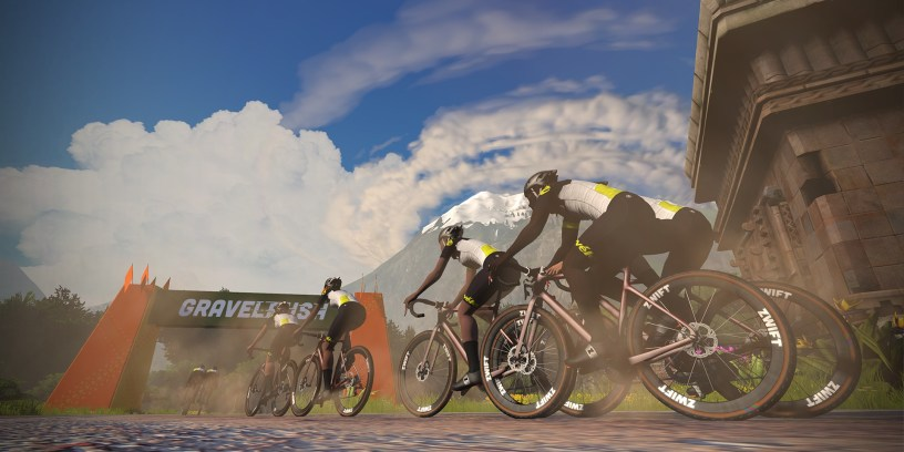 Zwift: Cervélo Gravel Rush Series Announced