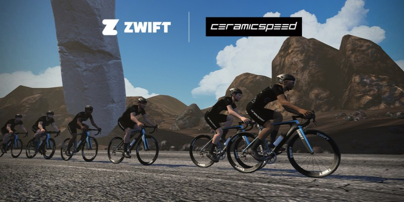 Zwift faster with your own in-game CeramicSpeed OSPW System