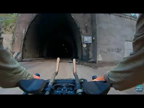 Cycling Through the Tunnel of Death