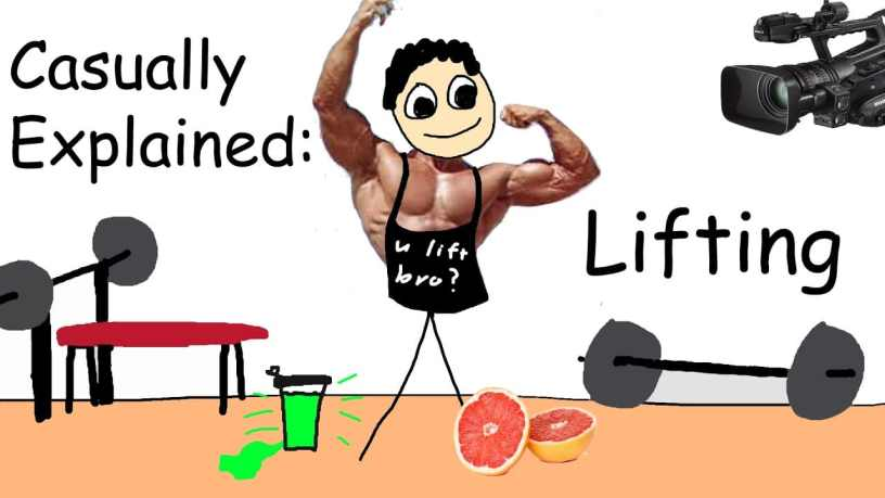 Lifting, Casually Explained