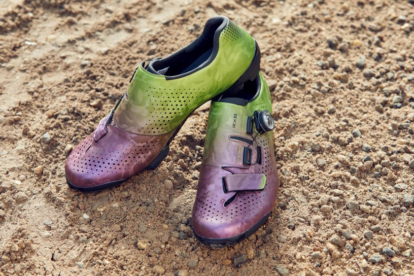 "Shimano RX8 ""Cactus Berry"" Gravel Race Shoes"