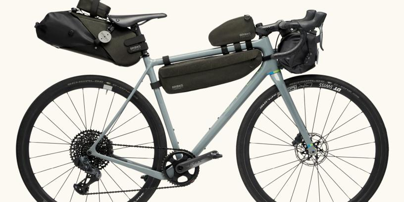 Brooks England's New 'Scape' Bicycle Touring Bags