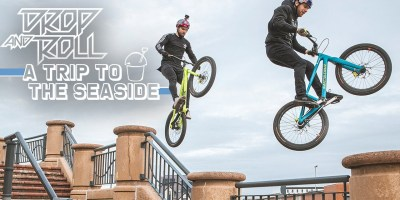 Danny Macaskill & Duncan Shaw in 'A Trip to the Seaside'