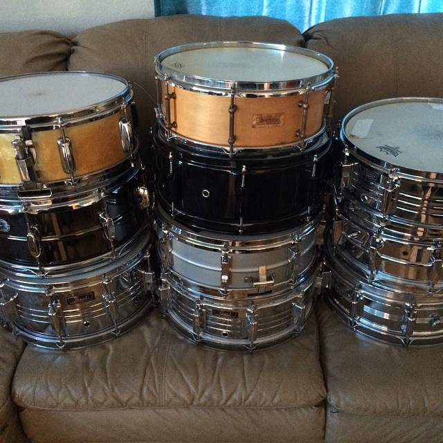 Jake Najor's snare collection