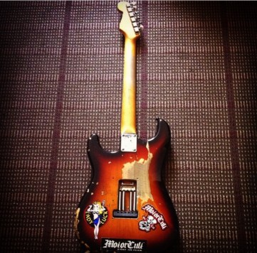 Fender Stratocaster '80s Reissue w/1967 body and 1962 neck.
