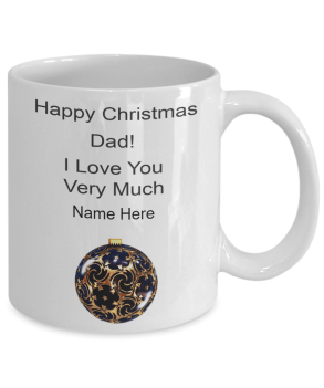 Happy christmas Mug for dad