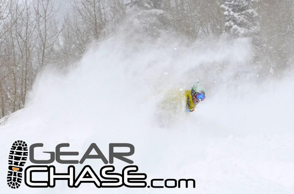 GearChase.com Snowboard Alta Utah Faceshot
