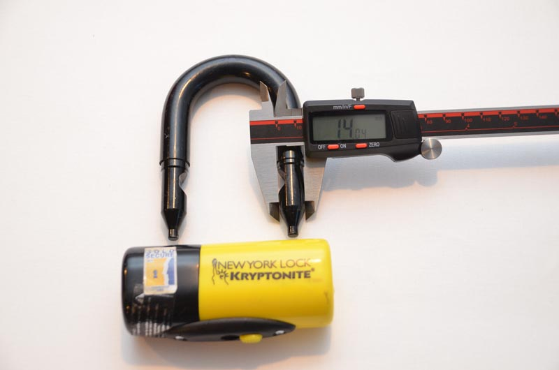 OnGuard vs Kryptonite Bike Lock Inside