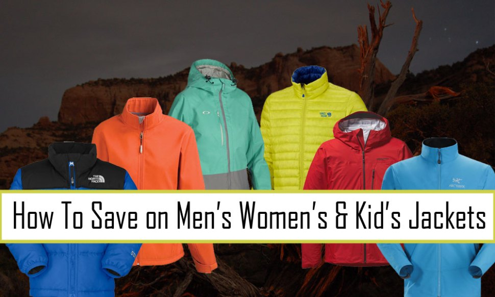 How to Save Money on Men's Women's and Kids Jackets