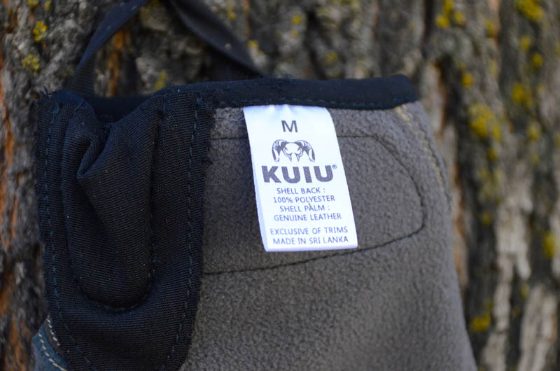 KUIU Guide Glove - inside Tag