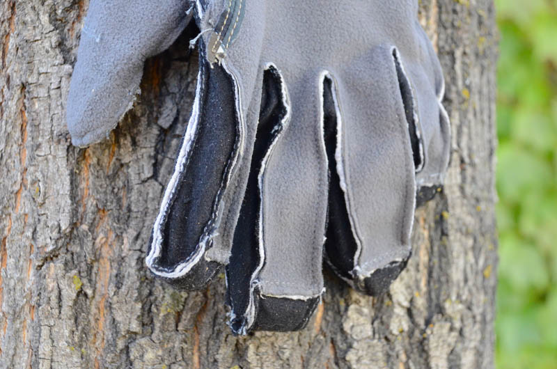 KUIU Guide Glove - inside fingers