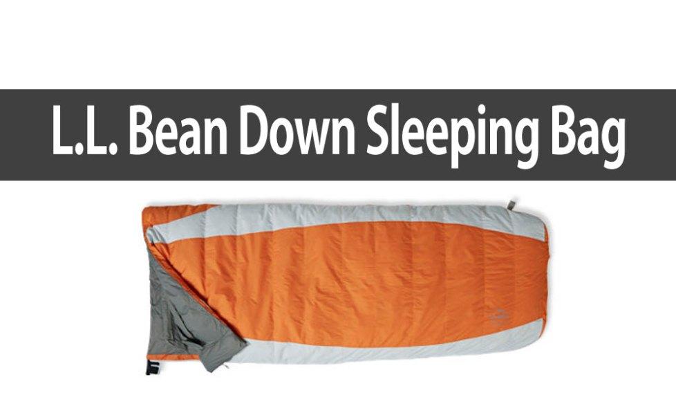 LL Bean Sleeping Bag