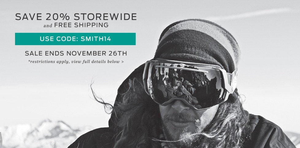 Smith Optics Discount Code Coupon
