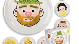 """Food Face Plate - another """"why didn't I think of that"""" moment"""