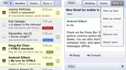 Google rolls out goodness with Gmail Mobile for iPhone/iPod Touch and Android devices