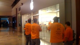 In The Waiting Line for an iPhone