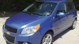 2009 Chevy Aveo5: no movie star but worth a look