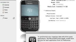 Blackberry Desktop Manager for Mac - First Look