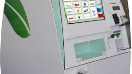 EcoATM inspects phone trade-in - provides cash