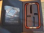 The Amazing Miniot iWood Cobra iPhone Case