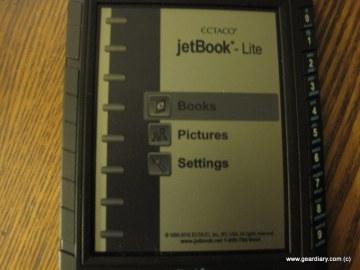 Jetbook Lite Ebook Reader Review
