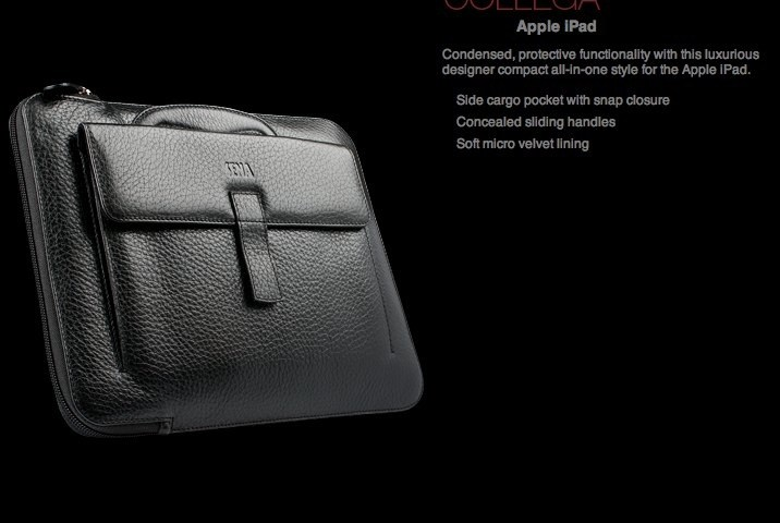 Sena Cases - Designer Leather Cases _ iPad Leather Cases Collega for Apple-1