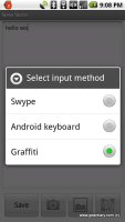 Graffiti One Comes to Android!