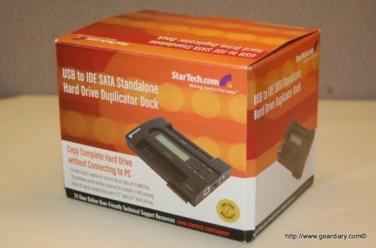 Review: StarTech Standalone IDE/SATA Hard Drive Duplicator
