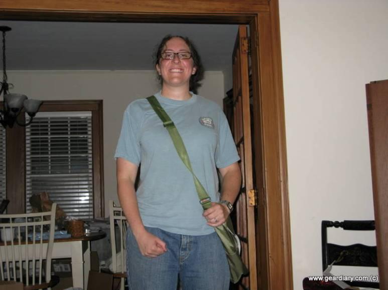 Review: GreenSmart Puku Messenger Bag