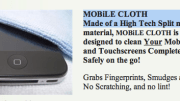 GearDiary Gear Review- MOBiLE CLOTH High Tech Split Microfiber Cleaning Cloth