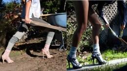 Random Useless Stuff: Teva Grey Ant Stilettos