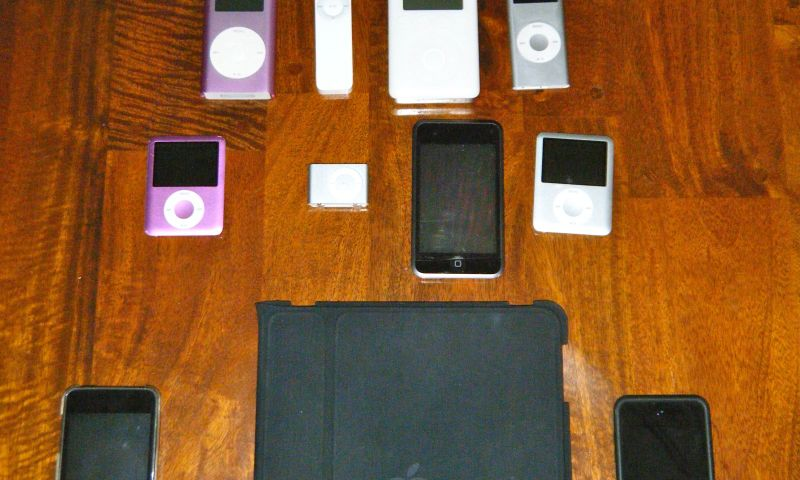 iPod Family Tree1