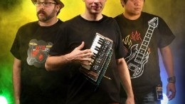Be the Band with an Old School Synth Style Tshirt from ThinkGeek