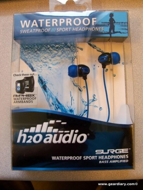 GearDiary Review: H2OAudio's Surge 2G Headphones