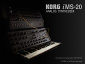Korg iMS-20 Title Screen