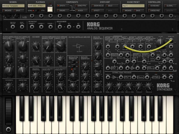 Korg iMS-201