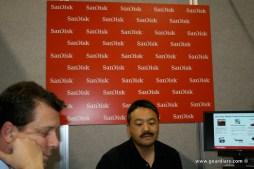 CES: SanDisk Meeting