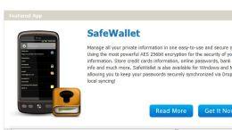 Android Software Review: SafeWallet and SafeWallet Desktop