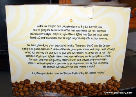 Big Cat Coffee's Purr-fect Pack Review  Big Cat Coffee's Purr-fect Pack Review  Big Cat Coffee's Purr-fect Pack Review  Big Cat Coffee's Purr-fect Pack Review  Big Cat Coffee's Purr-fect Pack Review