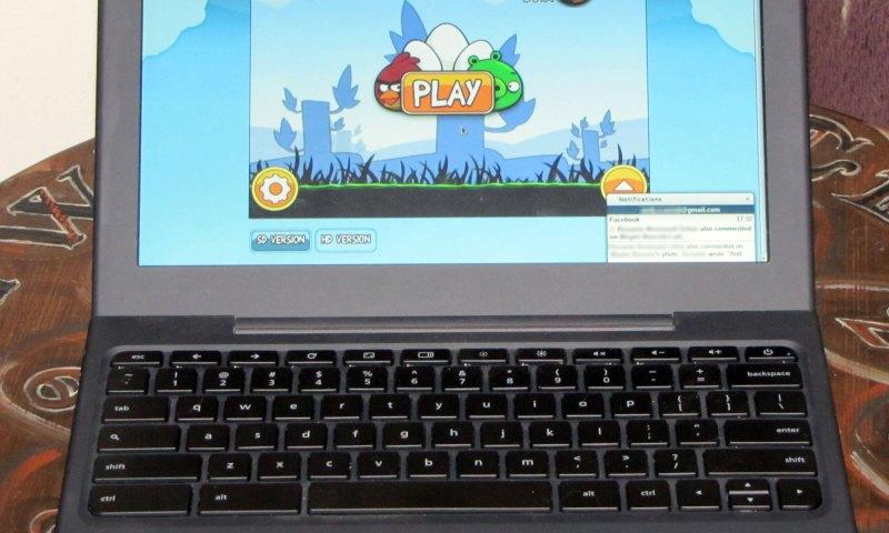 Angry Birds on Cr-48