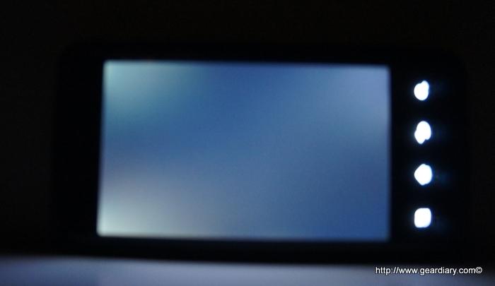 G2X screen bleed