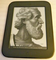 First Impressions: nook Simple Touch Reader  First Impressions: nook Simple Touch Reader
