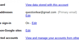 Quick Google Tip: Multiple Account Sign-in