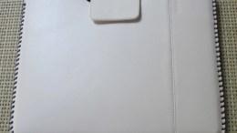 iPad 2 Case Review: ZENUS iPad 2 Leather Case 'Prestige' HandCraft Stitch Pouch Series