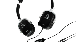 "Andrea's SuperBeam Phones On-Ear Headphones Go ""Boom-less"""