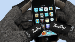 Using a Touchscreen Device in the Cold? Thumbs Dogs Are for You!