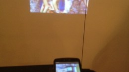 DLP Pico Engine Powers a Smartphone Projector: From the CES Floor