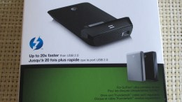 Seagate Thunderbolt Adapter Speed Comparison with USB 2.0