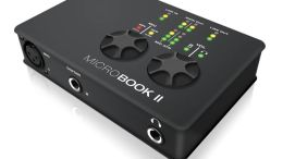 Mark of the Unicorn Introduces the MicroBook II Audio Interface