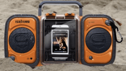 It Booms. It's a Box. It's Waterproof. It's The Fully Submersable Eco Terra BoomBox